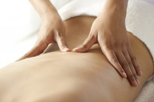 Massotherapy offered directly on site